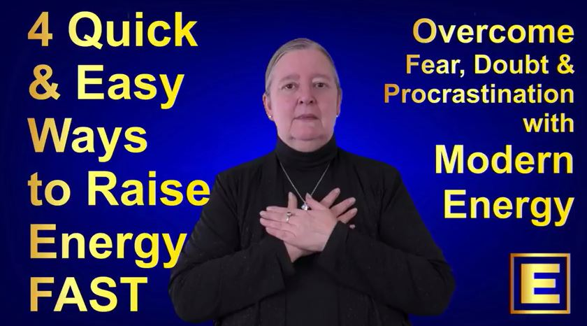 4 Cool Energy Hacks For Procrastination, Anxiety & Self Doubt - Video with Silvia Hartmann